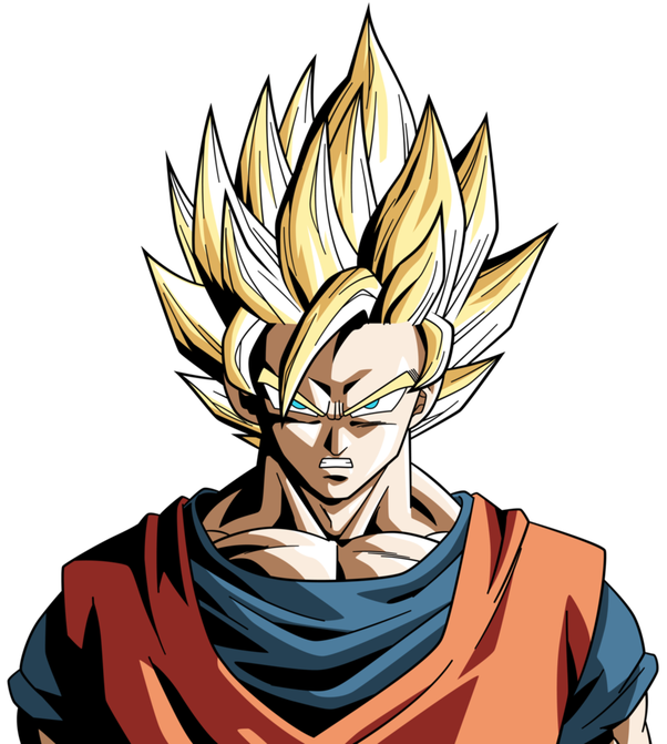 Goku super saiyan hair png. What is the difference