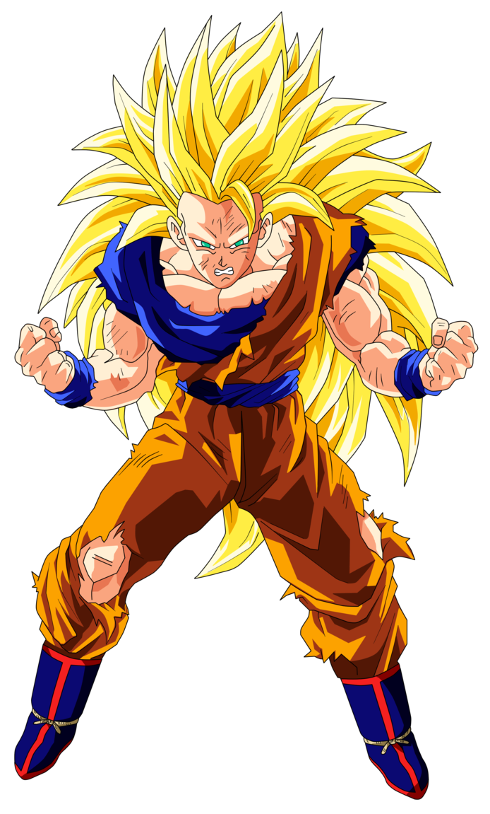 Super saiyan 3 goku png. Image ultra dragon ball
