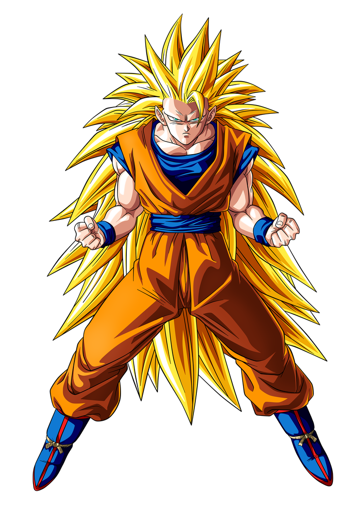 Super saiyan 3 goku png. By irfanabbasi on deviantart