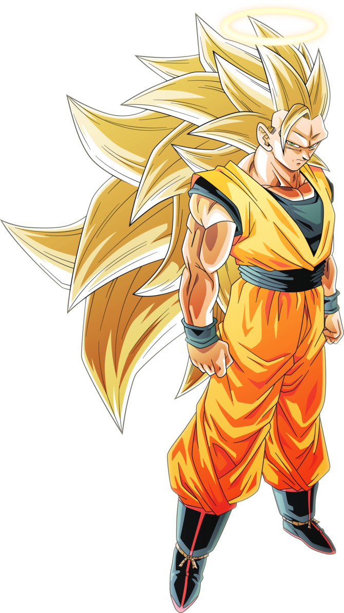 Super saiyan 3 goku png. Alt by aubreiprince on