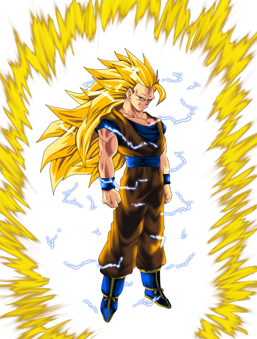 Super saiyan power up png. Image goku vs battles