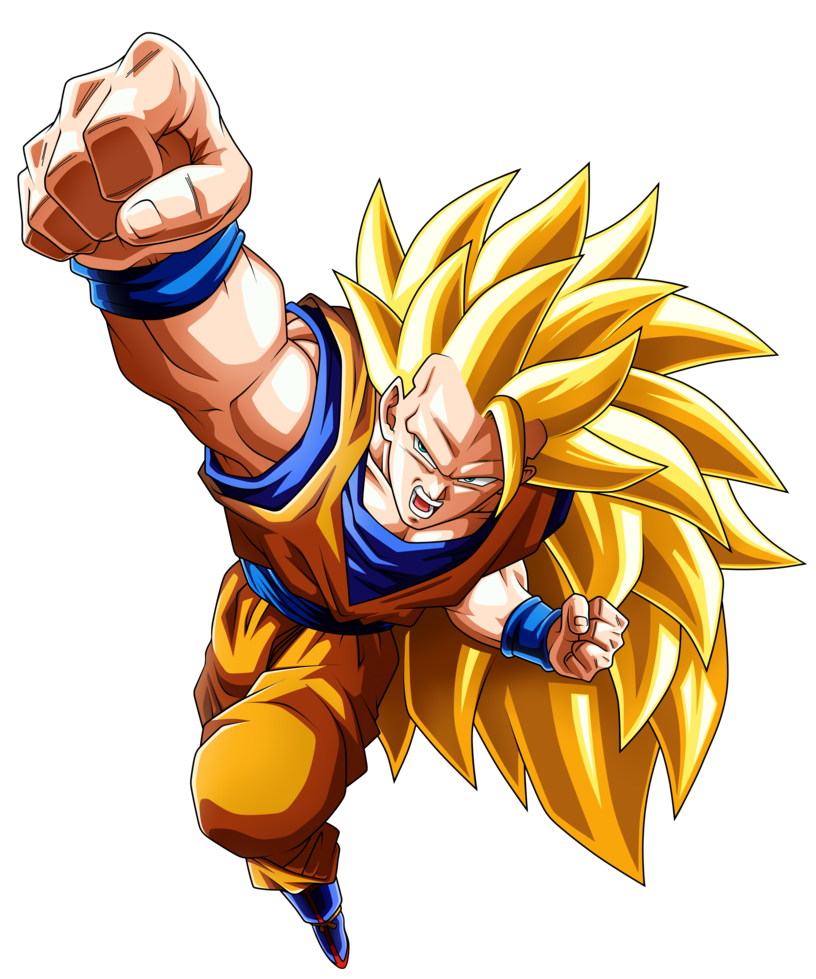Super saiyan 3 goku png. Son by nekoar on