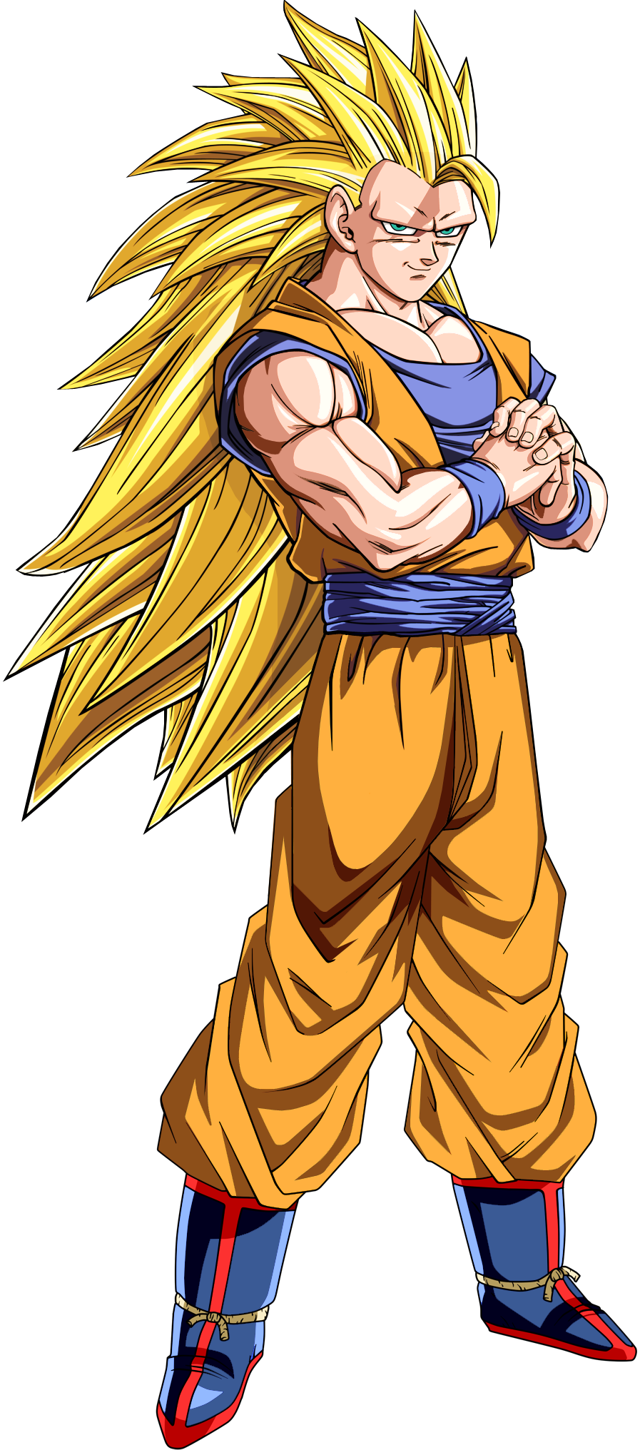 Super saiyan 3 goku png. Image dragon ball z