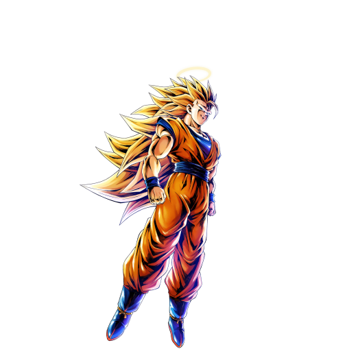 Super saiyan 3 goku png. Sp purple dragon ball