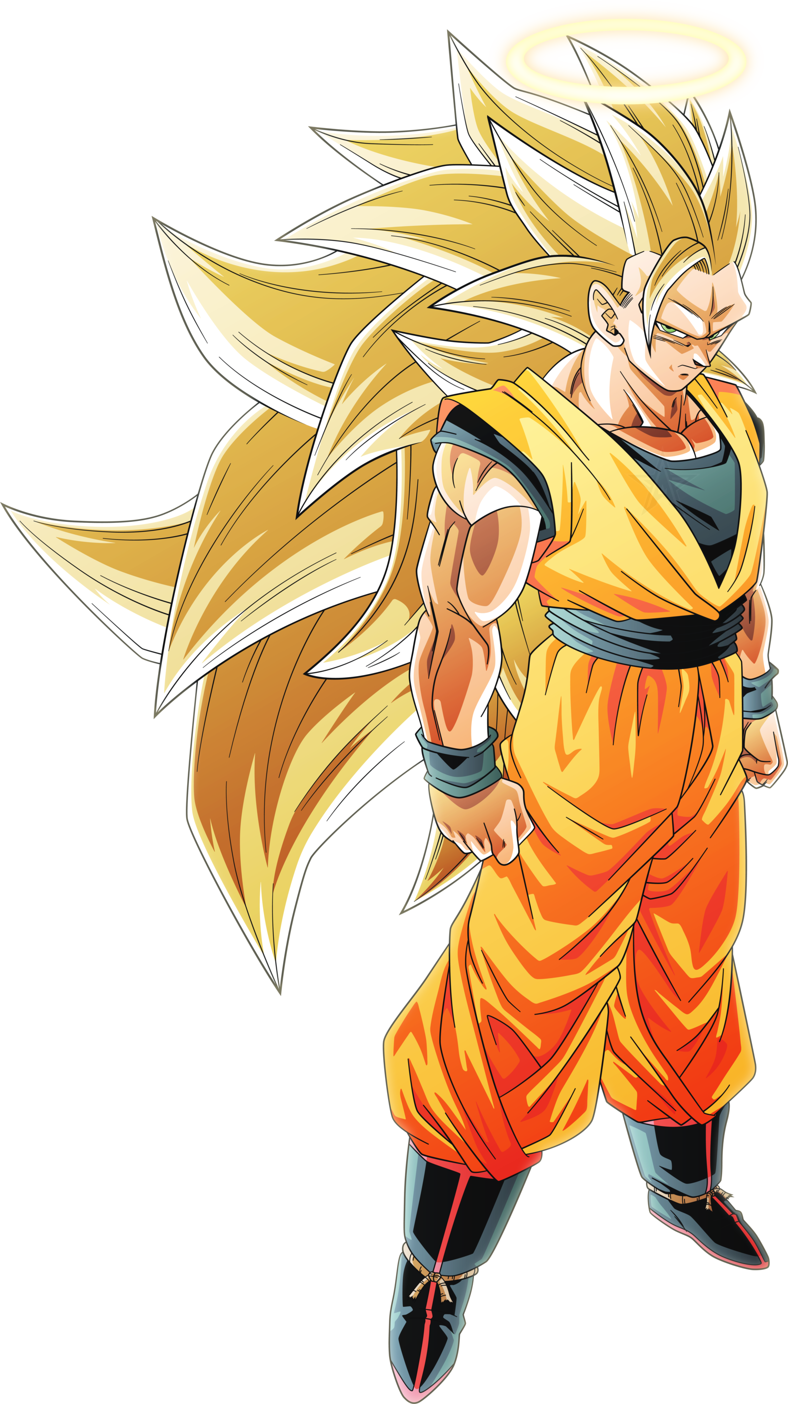Super saiyan 3 goku png. A anime manga thread