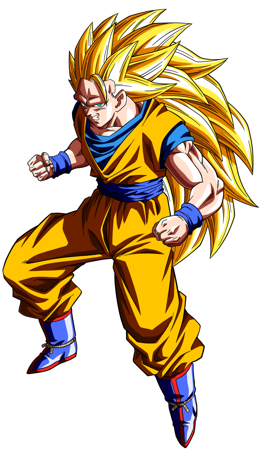 Super saiyan 3 goku png. Wiki dragon ball fandom