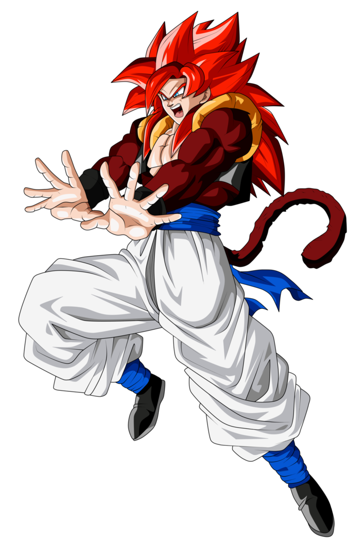 gogeta transparent four