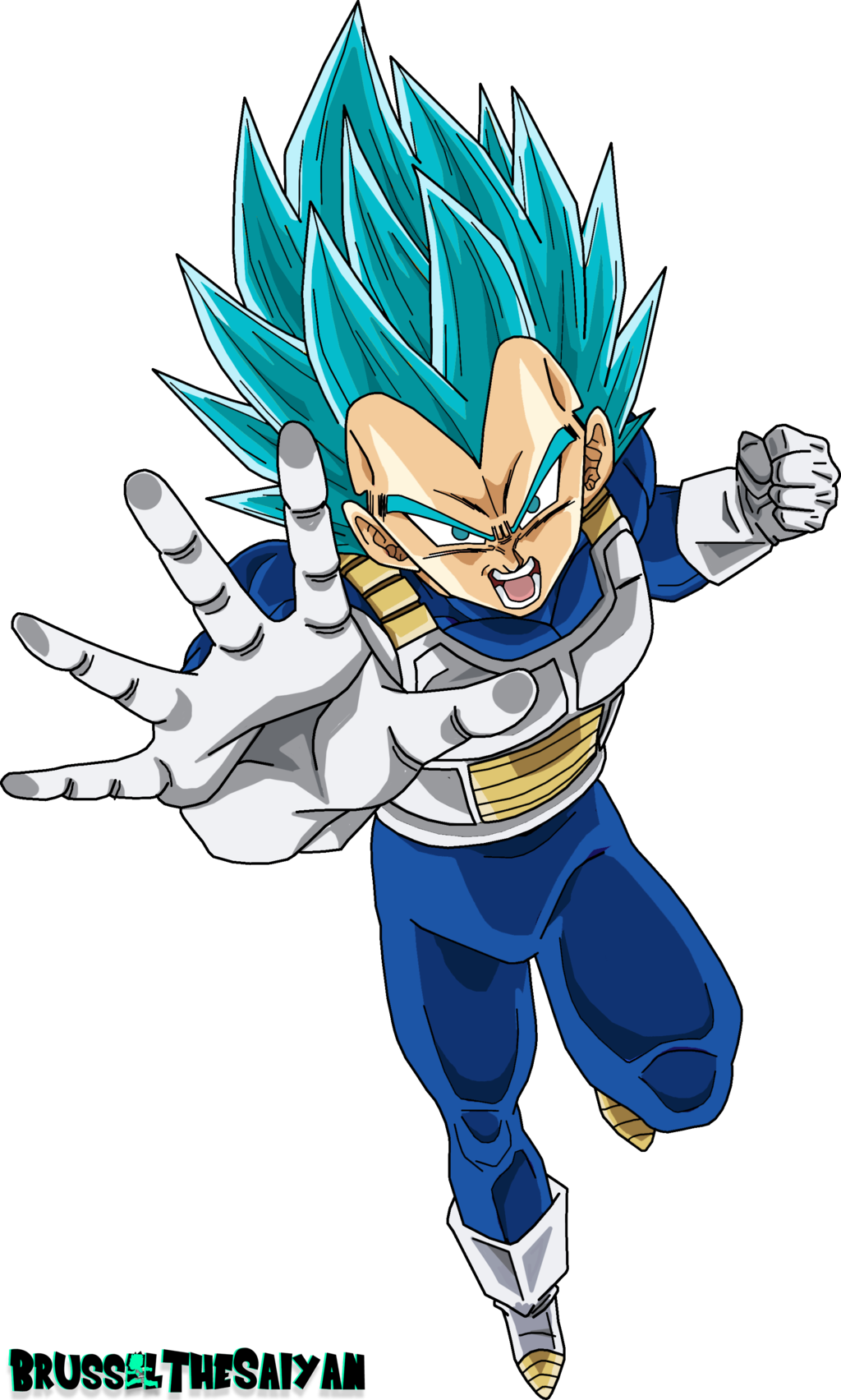 Blue wallpapers wallpaper cave. Vegeta vector super saiyan god picture stock