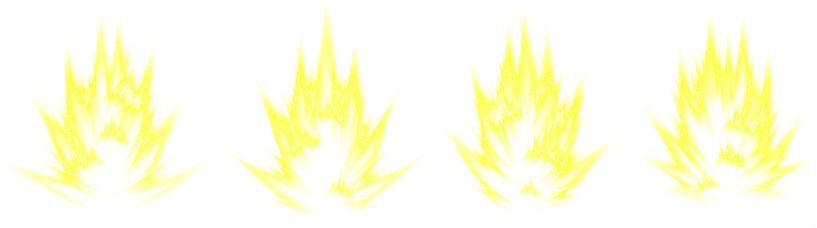 Super saiyan effect png. Sprite sheets x my