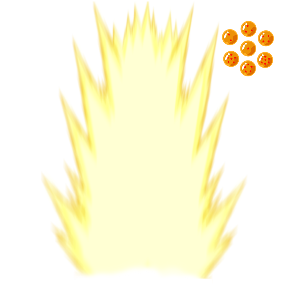 Super saiyan effect png. Dbz templates by kai