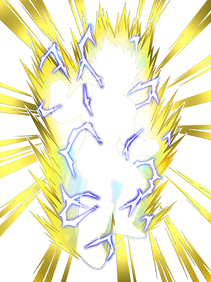 Super saiyan effect png. Determined to fight back