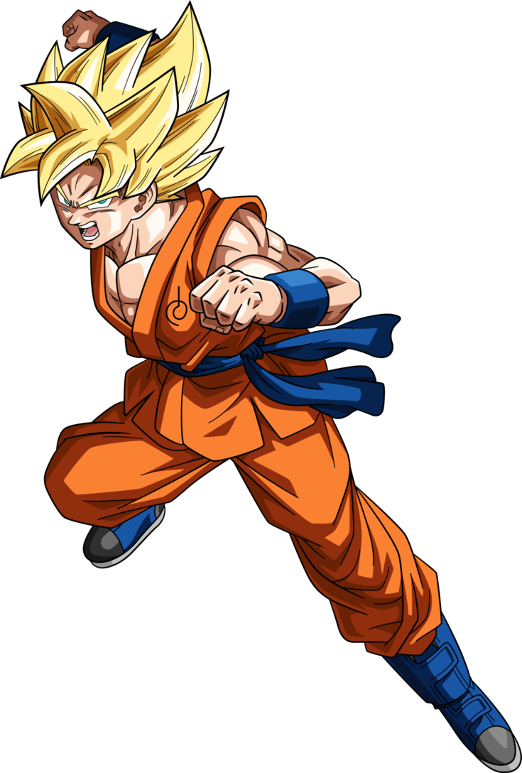 Super saiyan goku png. Images in collection page
