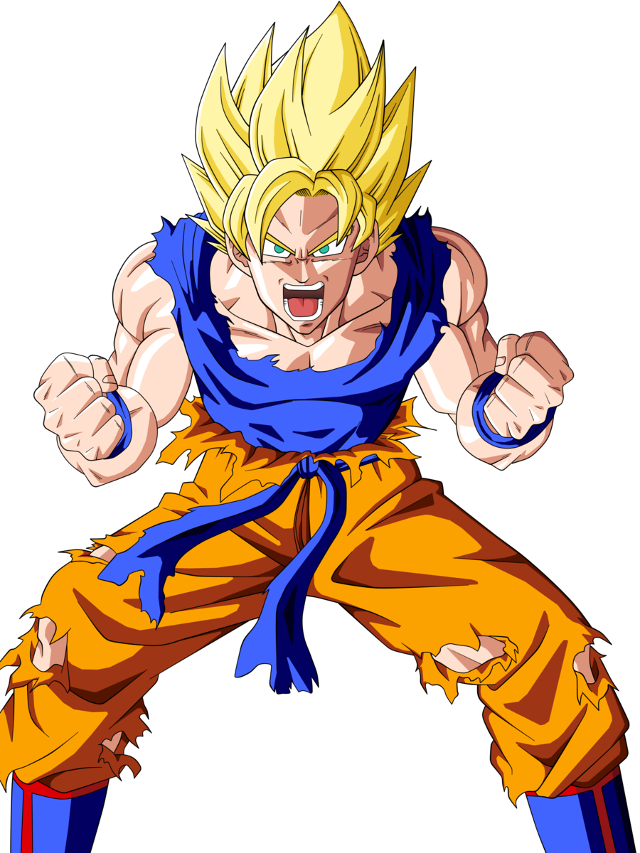 Super saiyan goku png. Image based on epic