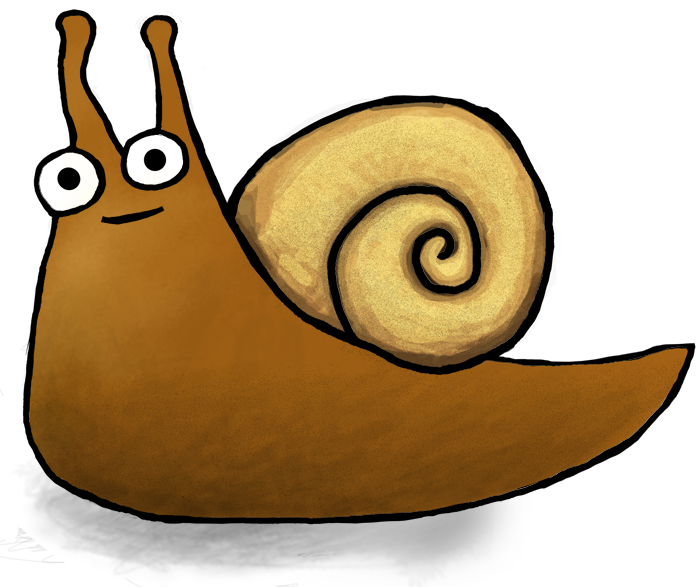 Super sea snail png. About sherman the monsters