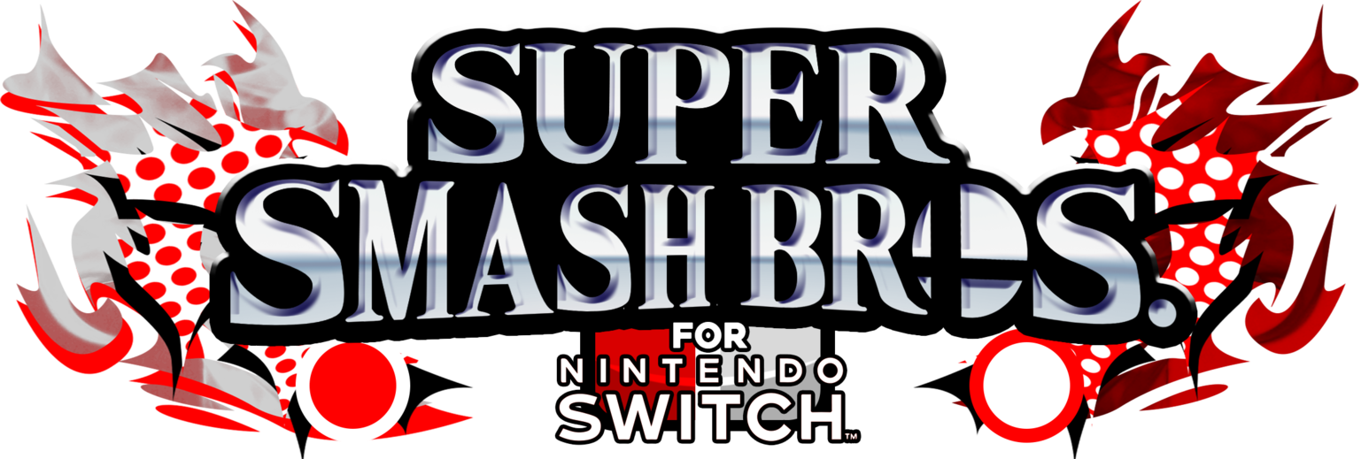 Super smash bros logo png. For switch fake by