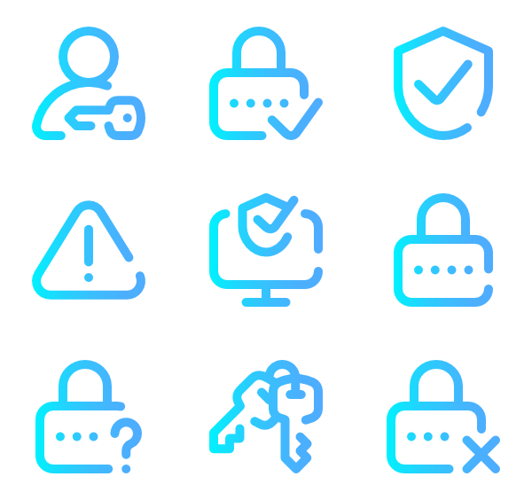 Super vector svg. Basic omission icon family