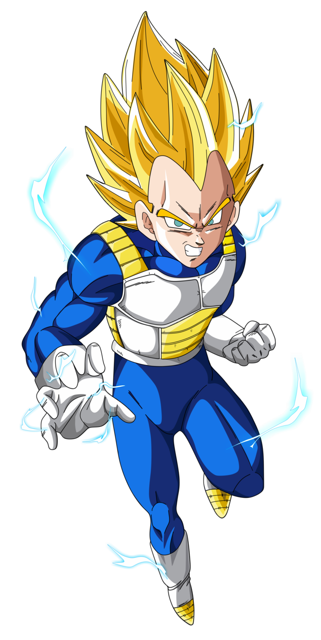Super vegeta png. Image saiyan dragon ball