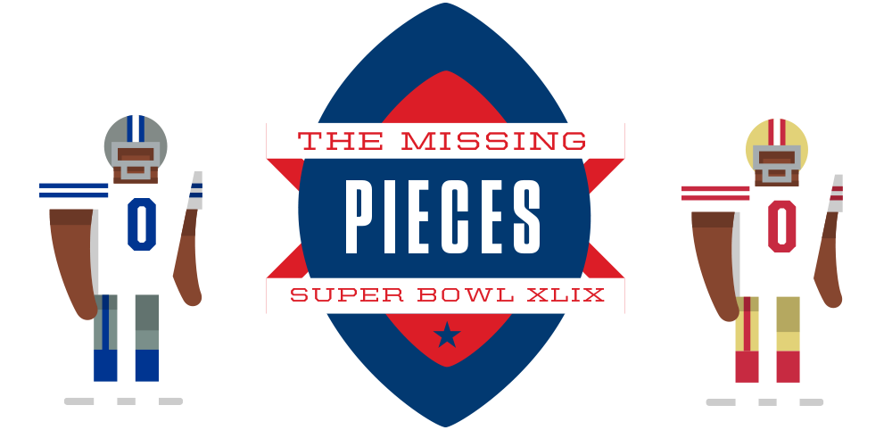 Superbowl drawing quarterback. The missing pieces how