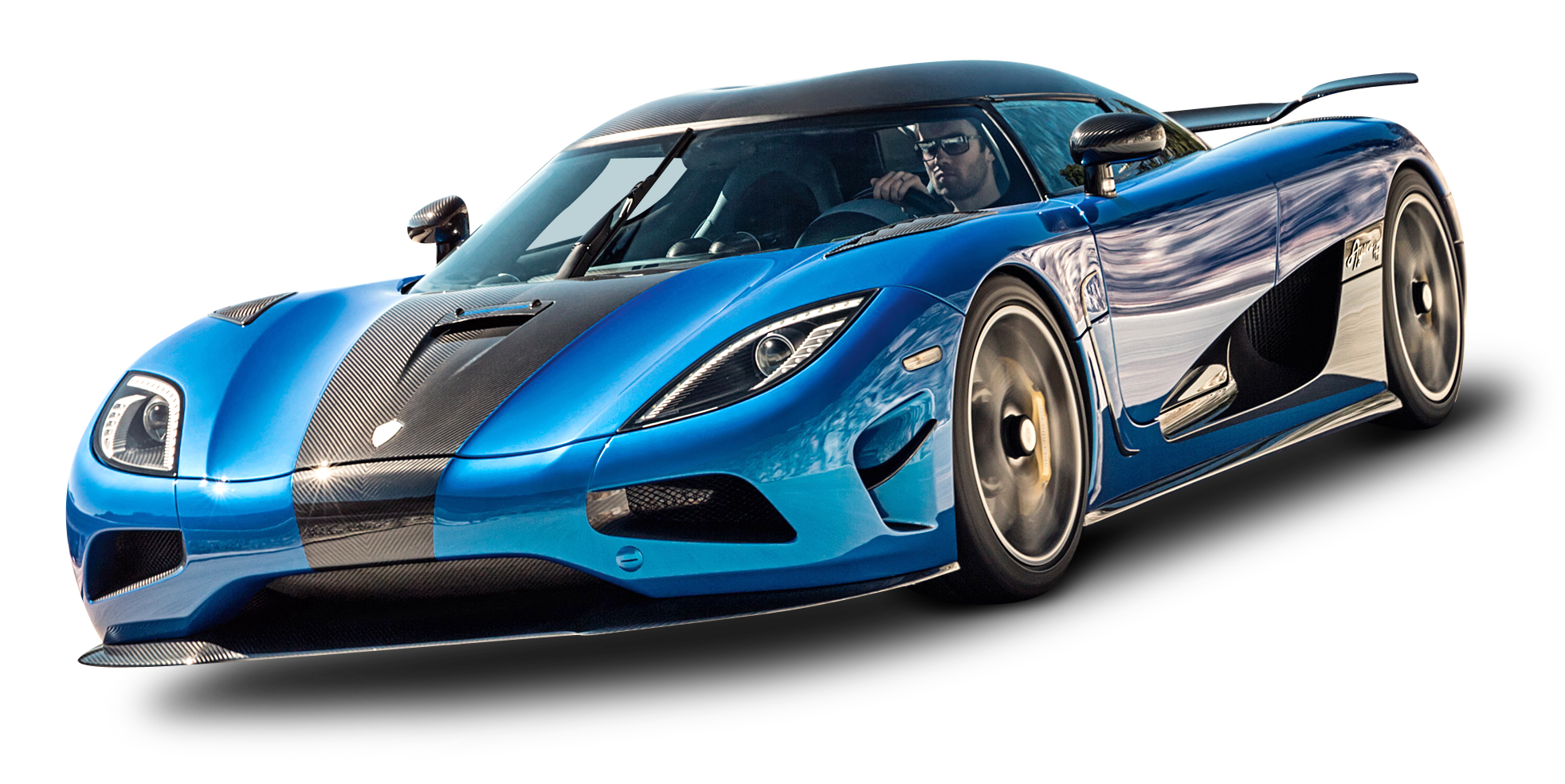 Supercar drawing agera. Koenigsegg blue car cars