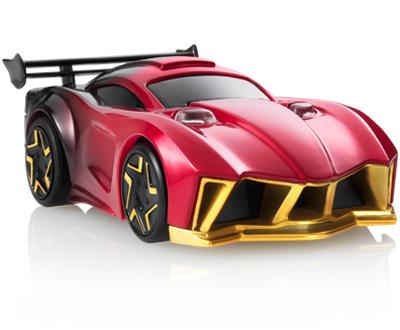 Supercar drawing concept. Thermo right view anki