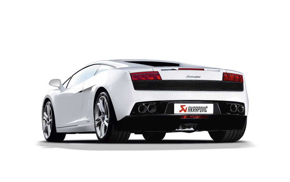 Supercar drawing lamborghini gallardo. Akrapovic v titanium exhaust