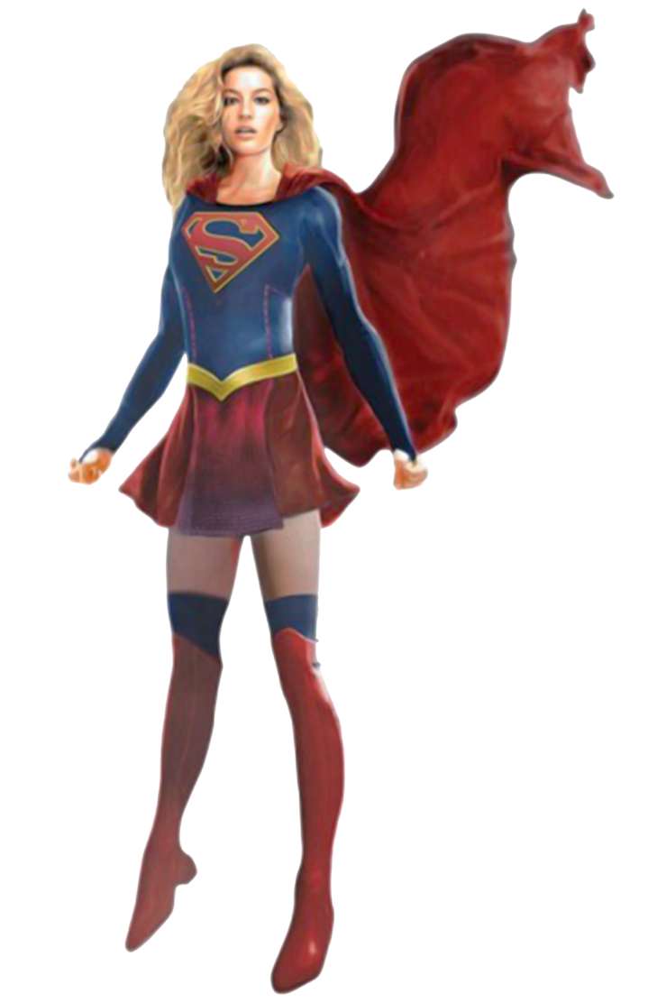 Supergirl art png. Official concept by trickarrowdesigns