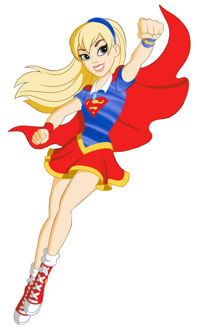Supergirl caricatura png. Basic new profile art