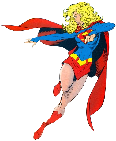 Supergirl cartoon