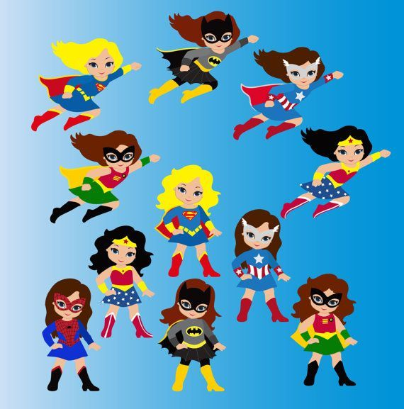 Supergirl clipart. Free superhero fonts freebies banner library stock