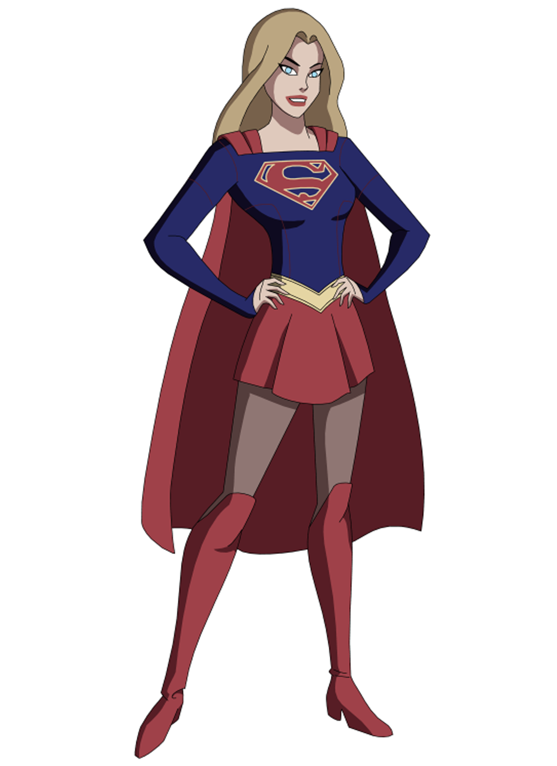 Supergirl illustration png. Pin by superman beyond