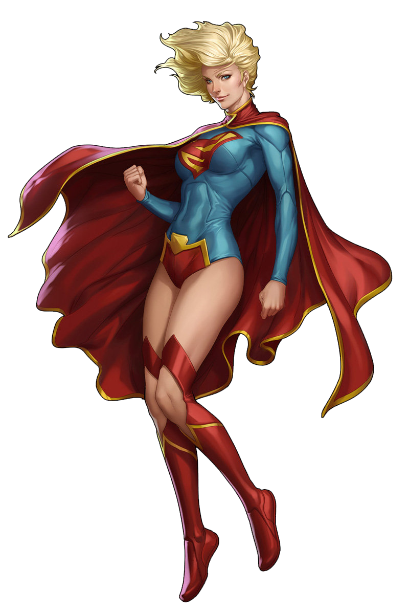 Supergirl illustration png. Image earth comic crossroads