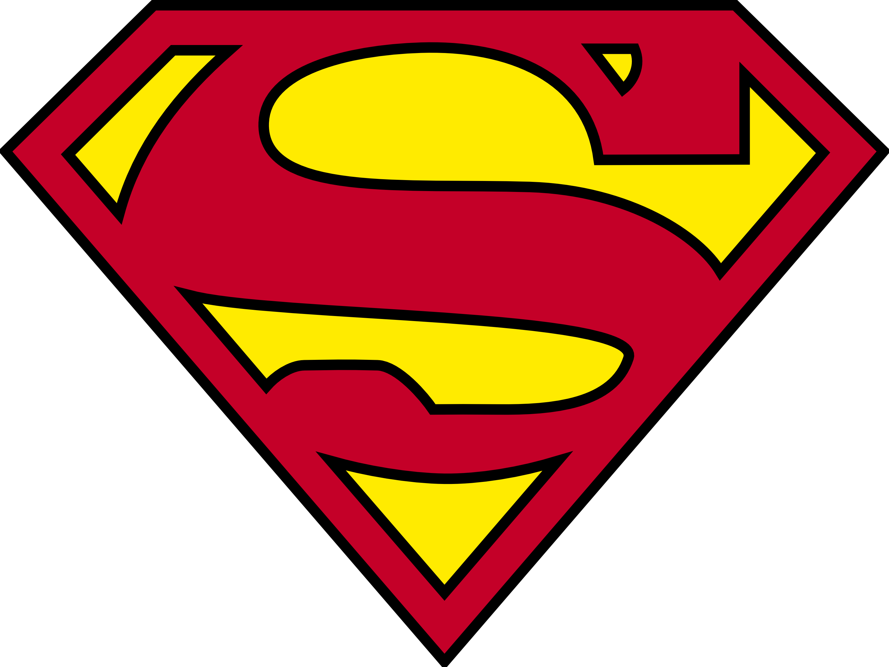 Superhero logos png. Ripped open superman logo
