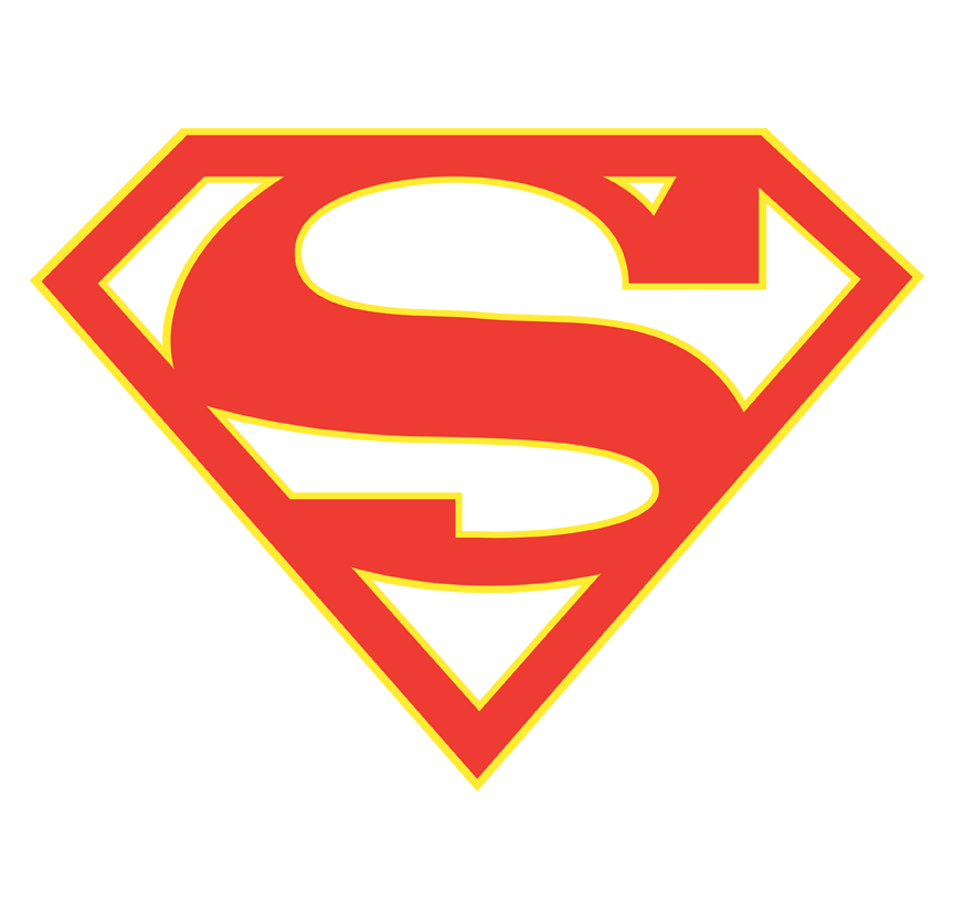 Supergirl red and yellow and purple logo png. Juniors tank sons of