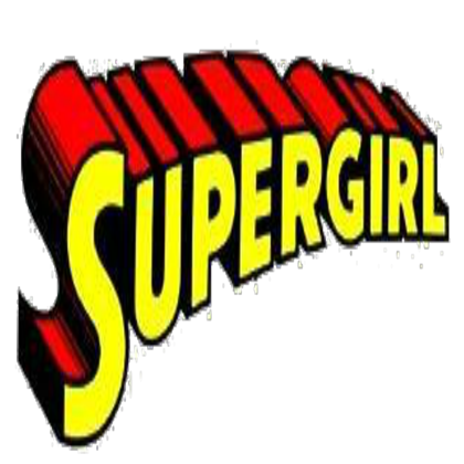 Supergirl title png. Roblox