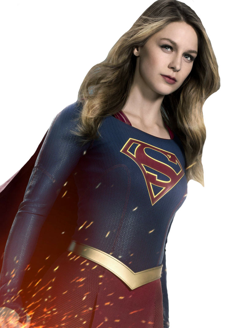 Supergirl transparent brown hair. By asthonx on deviantart