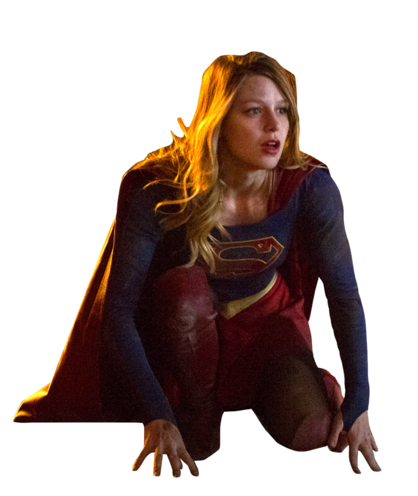 Supergirl transparent brown hair. Cw by trickarrowdesigns on