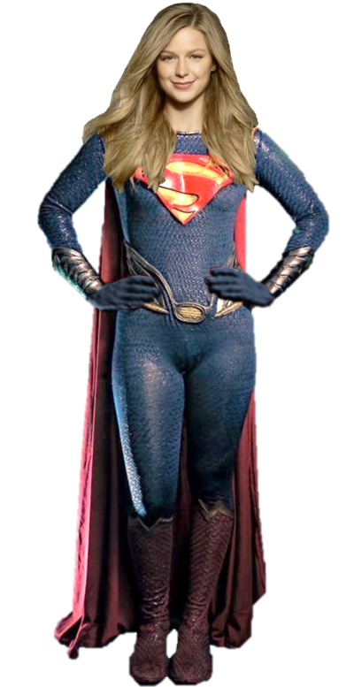 Supergirl transparent brown hair. Girl of steel background