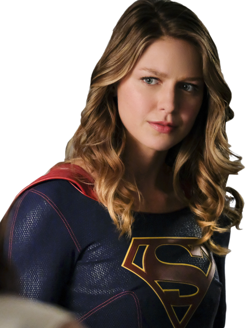 Supergirl transparent brown hair. Download free png image