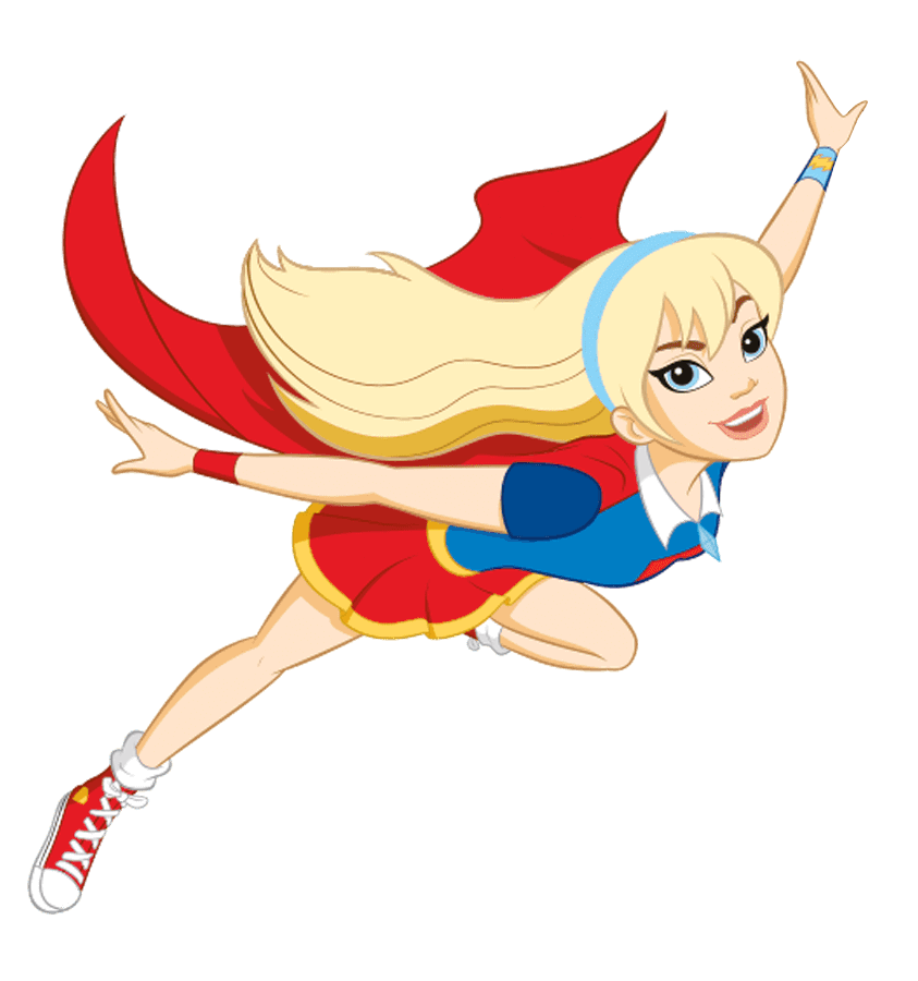 Supergirl volando png. Basic new profile art
