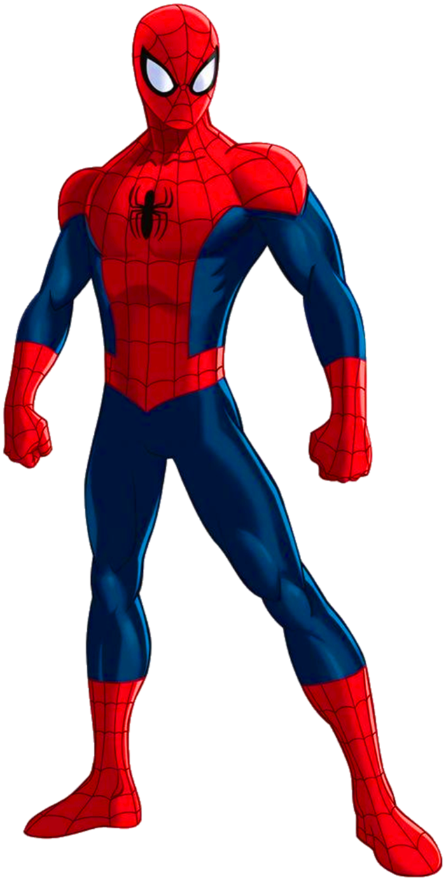 Superhero body png. Spider man clip art