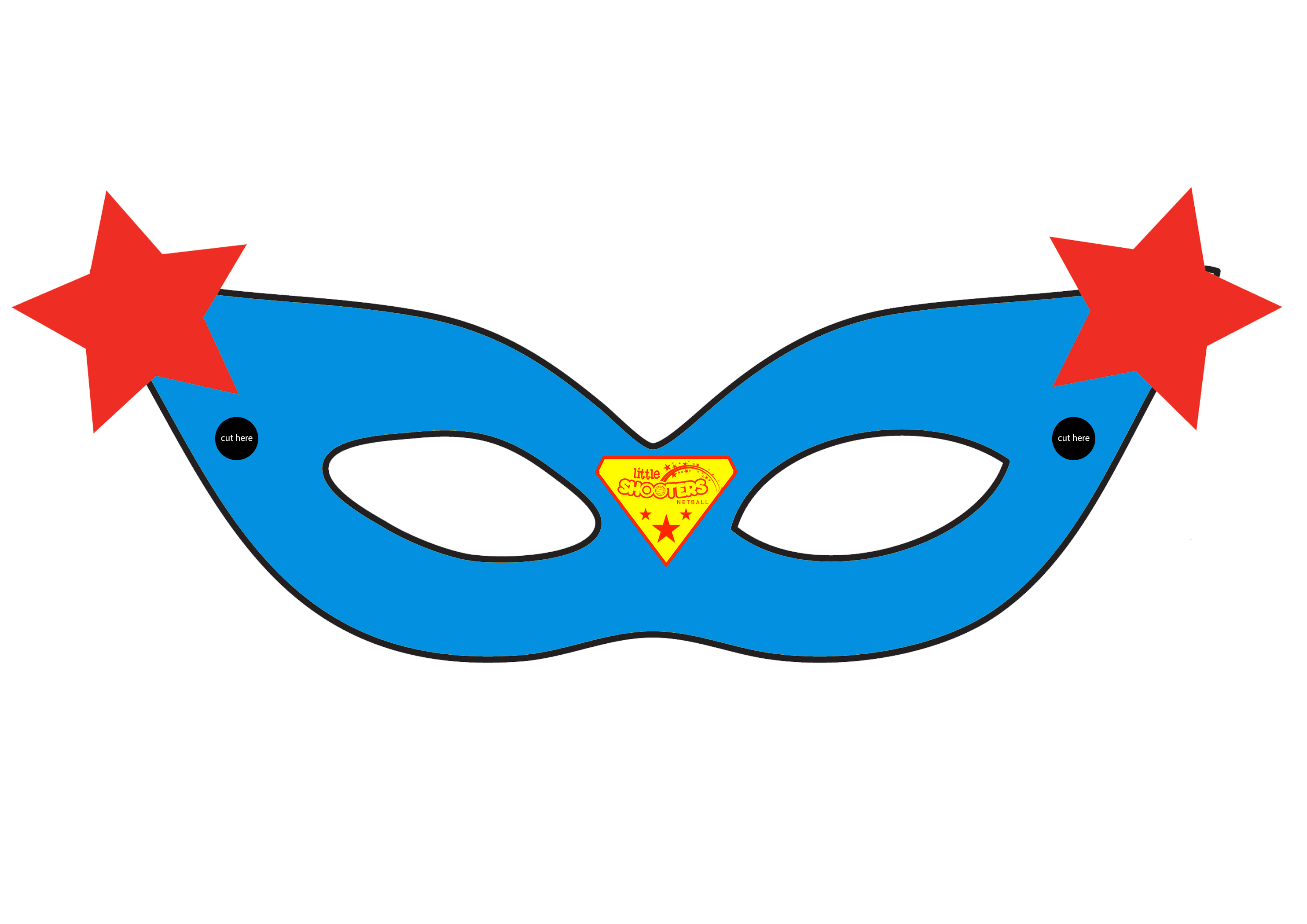 Superhero mask png. Supergirl template april onthemarch
