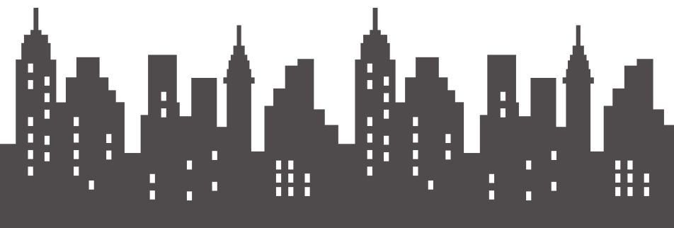 Superhero skyline png. Tight red pants a