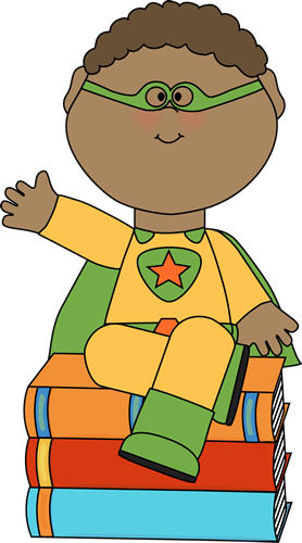 Mechanicsville elementary school images. Superheroes clipart super reader png royalty free stock