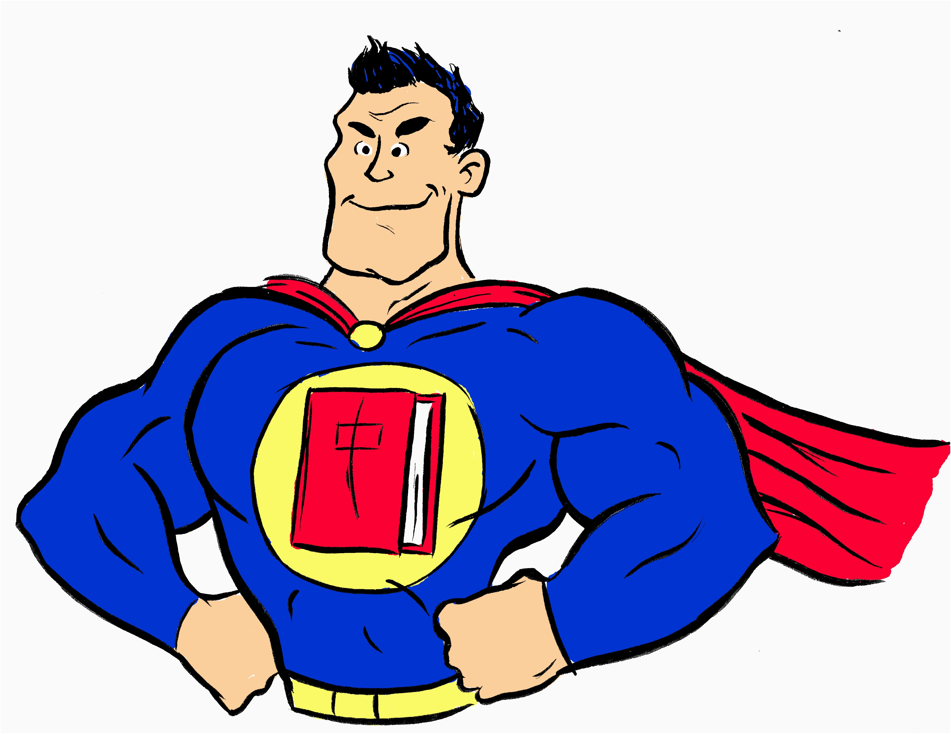 Superheroes clipart super reader. Superhero awesome hero flying