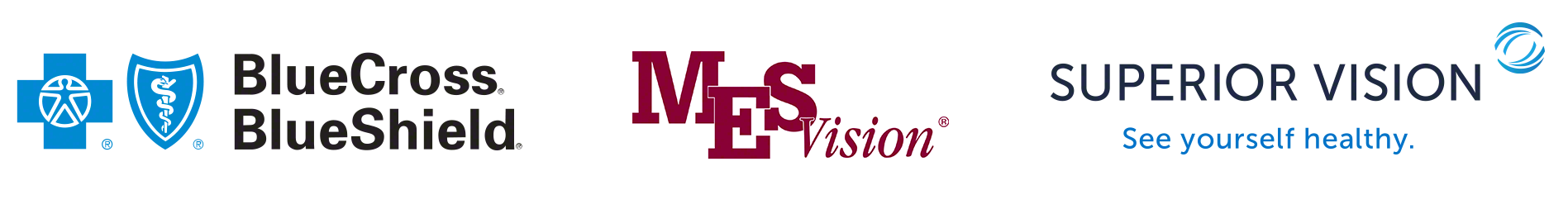 Eye insurance accepted care. Superior vision logo png png black and white