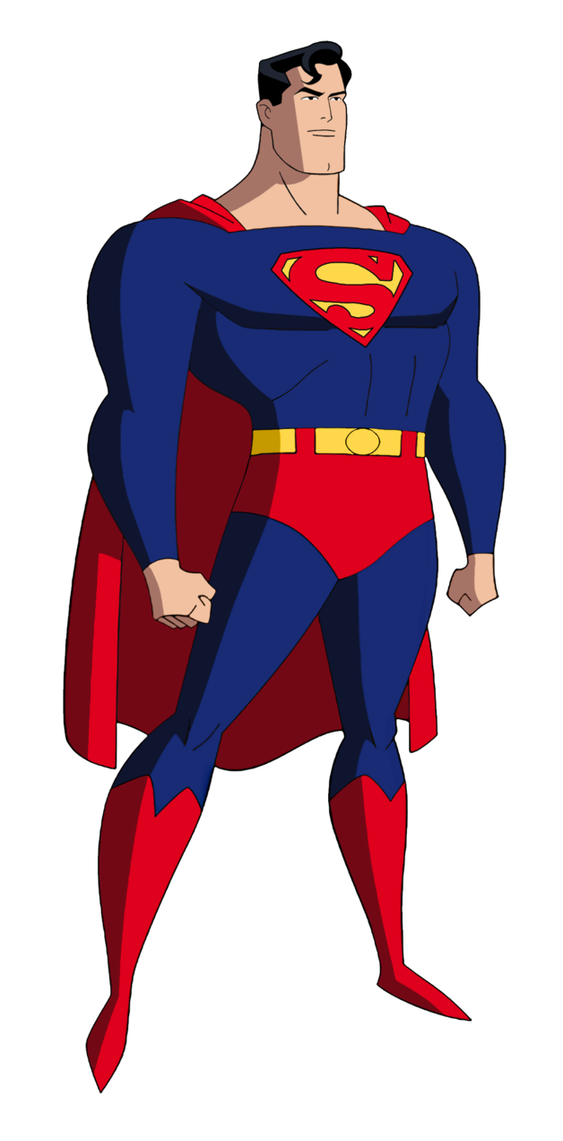 Superman cartoon png. Batman the animated series