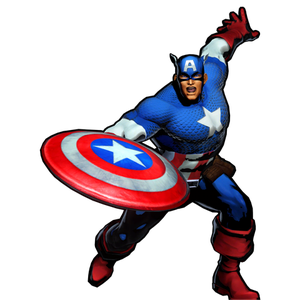 Superman clip captain america shield. Injustice guest fighter by