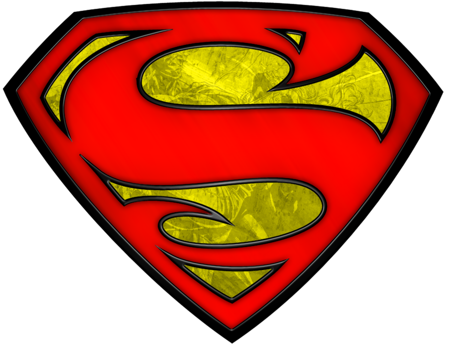 Superman clip emblem. Logo by solphins on