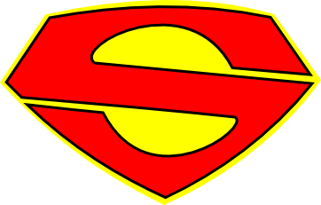Superman clip logo. Redesign by thedreaded on