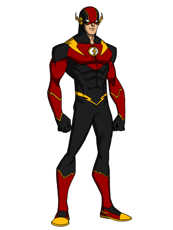 Transparent flash anime style. Redesign by kingleonuniverse on